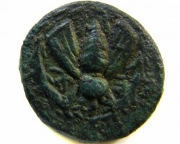 GREEK BRONZE COIN FROM EPHESOS / IONIA    AC 502