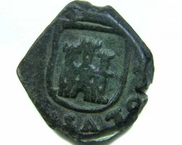 Spanish   Maravedis Cob 16 th Cent   Philip II,  AC 532