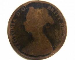 1879 VICTORIA HALF PENNY  CO 436
