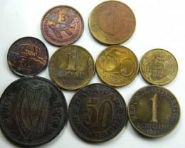 PARCEL MIXED EUROPEAN COINS  JO 718