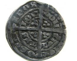 1351-1352  EDWARD 111  HALF GROAT GREAT BRITIAN  CO 452