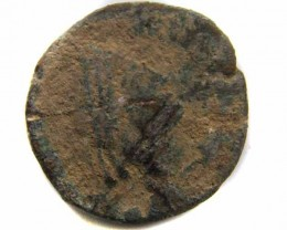 VALUE ANCIENT ROMAN COIN TO START COLLECTION  CO 472