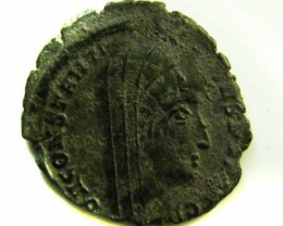 ANCIENT ROMAN  CAMP-GATE COIN  AC 544