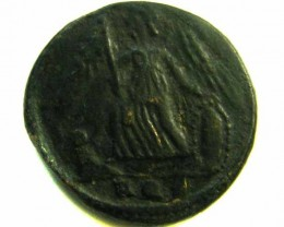 ANCIENT ROMAN  BRONZE   COIN  AC 576