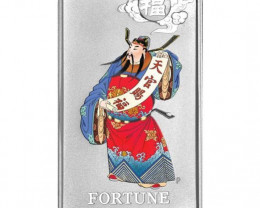 2009 Chinese Mythological Characters Silver FORTUNE