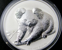 AUSTRALIAN  2010 KOALA ONE OUNCE SILVER COIN