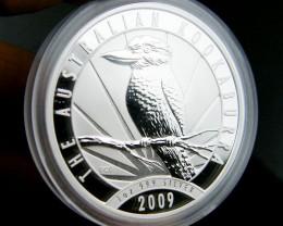2009 Australian Kookaburra Silver Coin