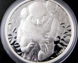 Australian koala SilverOne Ounce silver Coin 2007