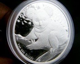 Australian Koala 2009 Silver Coin One ounce