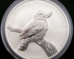 2010 KOOKABURA ONE OUNCE SILVER COIN OFFICIAL PRICE