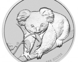 2010 KOALA ONE OUNCE SILVER COIN OFFICIAL PRICE