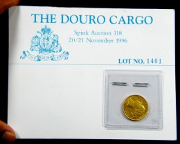 THE DOURO CARGO SHIPWRECK GOLD SOVERIGN  1872 CO 600