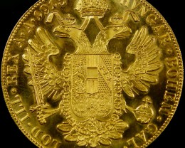 UNC LARGE  GOLD DUCAT 1915 40MM DIAM  CO 601
