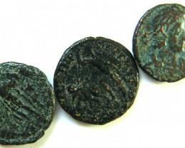 THREE PROVINCIAL ROMAN COINS         OP 650
