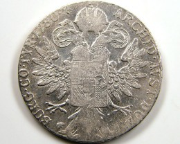 Maria Theresa Silver Thaler coins