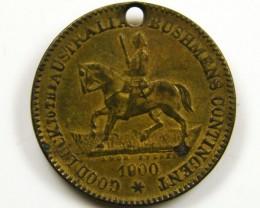 1900 COLLECTORS WAR MEDAL TRANSVAAL CO 662