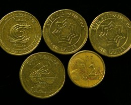 PARCEL AUSTRALIAN $2 AND $1  COINS     J 727