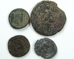 PARCEL4  MIXED ANCIENT ROMAN COINS  AC 616