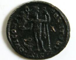 HIGH GRADE BRONZE COIN 3-4TH CENTURY  ROMAN COIN  AC 624