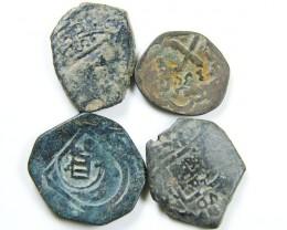 Parcel Spanish  Maravedis Cob 16 th Cent   Philip II, AC 636