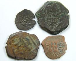 Parcel Spanish  Maravedis Cob 16 th Cent   Philip II, AC 638