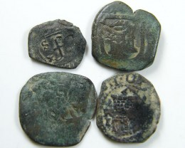 Parcel Spanish  Maravedis Cob 16 th Cent   Philip II, AC 640