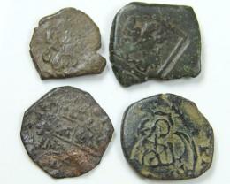 Parcel Spanish  Maravedis Cob 16 th Cent   Philip II, AC 641
