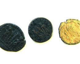 THREE PROVINCIAL ROMAN COINS         OP 667