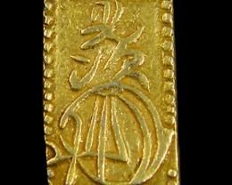 XF MEIJI DYNASTY NIBUKIN  GOLD COIN 1868-1869     JCC 1