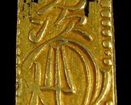 MEIJI DYNASTY NI BUKIN  GOLD COIN 1868-1869     JCC 8