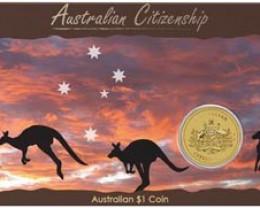 2010 AUSTRALIAN CITIZNSHIP COIN
