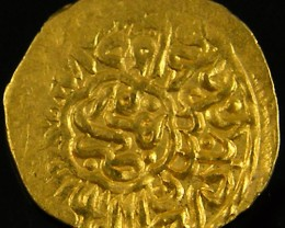 ANCIENT ARAB  GOLD 1/4 MESQUAL COIN 1523-1576 AD. APC5
