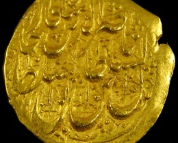 ANCIENT ARAB  GOLD TOMAN COIN 1264-1313 AH. APC16