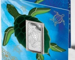 2009 Turtle Dreaming Silver Coin
