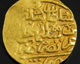 GOLD COIN SULTANI OF MISR (EGYPT) 1566-74 AD  CO717
