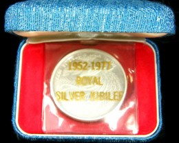 SILVER 1977 AUSTRALIAN  ROYAL JUBILEE  PROOF  CO724