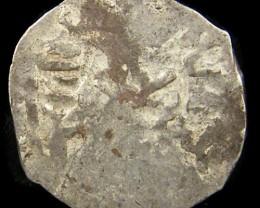 MEDIEVAL ISLAMIS SILVER  DIRHAM  13-14TH CEN COIN J756