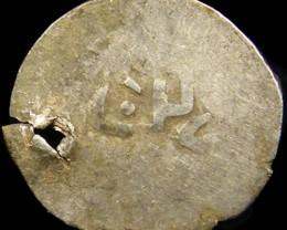 MEDIEVAL ISLAMIS SILVER  DIRHAM  13-14TH CEN COIN J 768