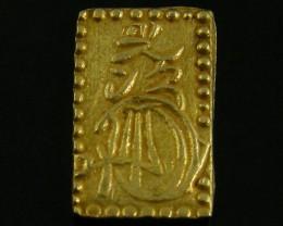 MEIJI DYNASTY NI BUKIN  GOLD COIN 1868-1869     JCC63