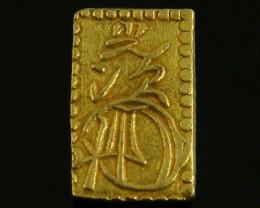 MEIJI DYNASTY NIBUKIN  GOLD COIN 1868-1869     JCC 67