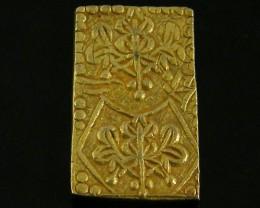 MEIJI DYNASTY NIBUKIN  GOLD COIN 1868-1869     JCC 72