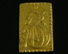 MEIJI DYNASTY NIBUKIN  GOLD COIN 1868-1869     JCC 76