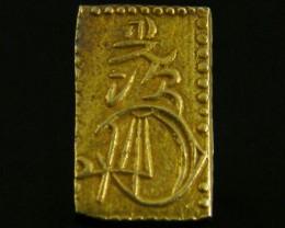 MEIJI DYNASTY NIBUKIN  GOLD COIN 1868-1869     JCC 81