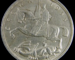 1935 GB CROWN 500 SILVER COIN CO 776