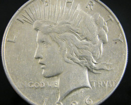 1926   PEACE DOLLAR SILVER COIN   CO 812