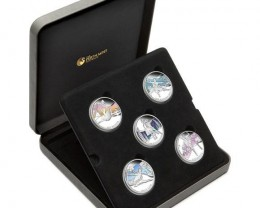 Famous Ballets 1oz Silver Proof Coin Set