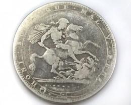 SILVER SOVEREIGN   1820                   OP56