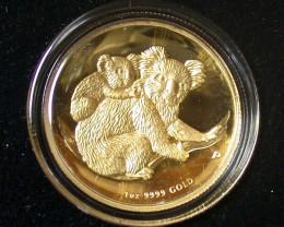 AUSTRALIAN KOALA 2008  1 OUNCE  GOLD COIN