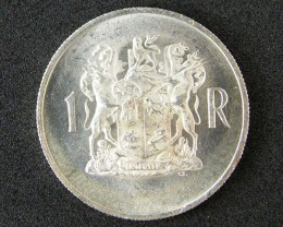 SOUTH AFRICA UNCIRCULATED 1969 ONE RAND       OP 898