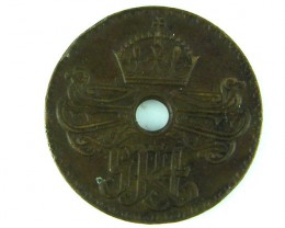 PAPUA NEW GUINEA     PENNY 1938         OP933